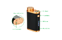 KIT - Eleaf iStick Pico 75W TC Full Kit ( Jet Black & Bronze ) εικόνα 3