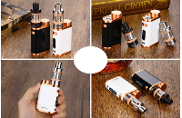 KIT - Eleaf iStick Pico 75W TC Full Kit ( Jet Black & Bronze ) εικόνα 4