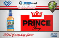 D.I.Y. - 30ml PRINCE PERRY 0mg 65% VG TPD Compliant Shake & Vape eLiquid by Natura εικόνα 1