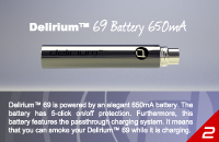 KIT - delirium 69 Premium ( Μονή Κασετίνα ) εικόνα 4