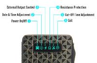 KIT - Vapros iBOX 25W - 1500mA VV/VW Sub Ohm ( ΜΑΥΡΟ ) εικόνα 4