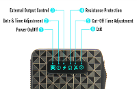 KIT - Vapros iBOX 25W - 1500mA VV/VW Sub Ohm ( ΑΣΗΜΙ ) εικόνα 4
