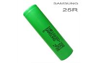 ΜΠΑΤΑΡΙΑ - SAMSUNG INR 25R 18650 2600mAh Rechargeable Flat Top Battery εικόνα 1