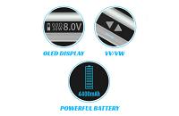 ΜΠΑΤΑΡΙΑ - Eleaf iStick 50W - 4400mA VV/VW Sub Ohm ( Black ) εικόνα 5