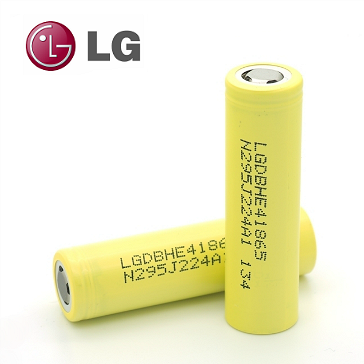 ΜΠΑΤΑΡΙΑ - LG HE4 18650 3.7V 35A 2500mAh High Drain ( Flat Top )