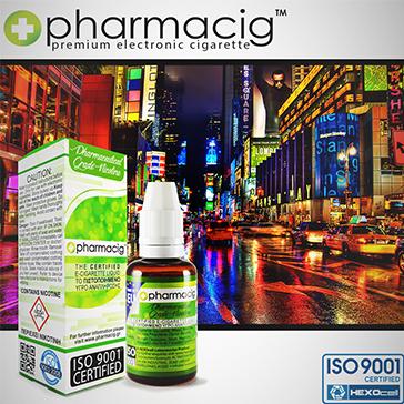 30ml NEW YORK CITY 9mg eLiquid (With Nicotine, Medium) - eLiquid by Pharmacig
