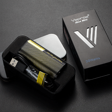 KIT - Vapros iBox Mini 30W Sub Ohm - 2000mAh VV/VW ( Black )