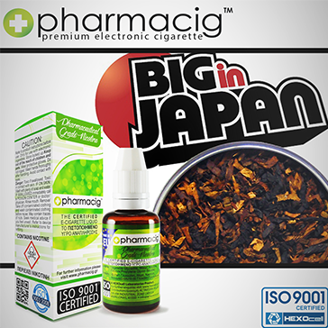 30ml BIG IN JAPAN 18mg eLiquid (With Nicotine, Strong) - eLiquid by Pharmacig