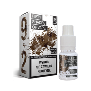 10ml TOBACCO 6mg eLiquid (With Nicotine, Low) - eLiquid by Fifty Shades of Vape