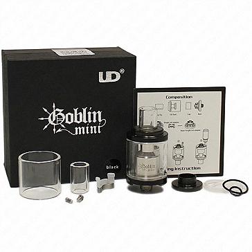ΑΤΜΟΠΟΙΗΤΉΣ - UD Goblin Mini RTA Rebuildable Tank Atomizer (Black)