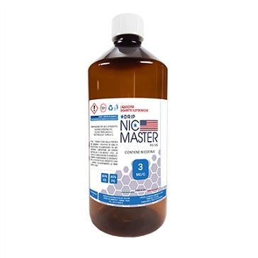 D.I.Y. - 1000ml NIC MASTER Drip Series eLiquid Base (20% PG, 80% VG, 3mg/ml Nicotine)