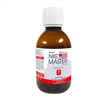 D.I.Y. - 250ml NIC MASTER Drip Series eLiquid Base (20% PG, 80% VG, 18mg/ml Nicotine)
