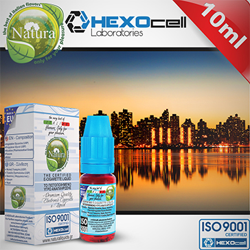 10ml MANHATTAN 9mg eLiquid (With Nicotine, Medium) - Natura eLiquid by HEXOcell