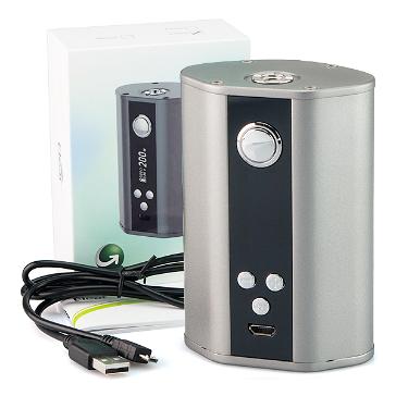 KIT - Eleaf iStick 200W TC Box Mod ( Grey )