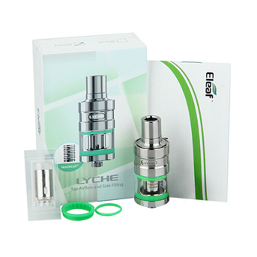 ΑΤΜΟΠΟΙΗΤΉΣ - Eleaf Lyche Cupped Atomizer with RBA Head ( Stainless )