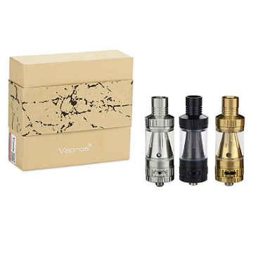 ΑΤΜΟΠΟΙΗΤΉΣ - VISION / VAPROS KinTa Ceramic Coil Atomizer with RBA Kit ( Stainless )