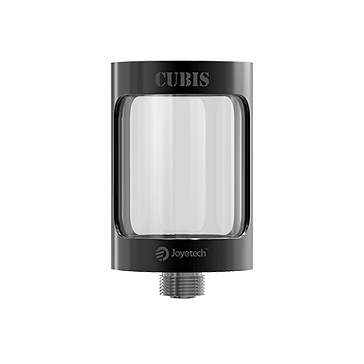 ΑΤΜΟΠΟΙΗΤΉΣ - JOYETECH CUBIS Replacement Glass Tank ( Black )