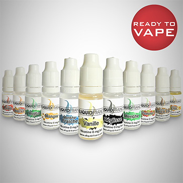 10ml LIGHT TOBACCO 12mg eLiquid (With Nicotine, Medium) - eLiquid by Eliquid France