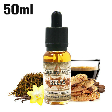 50ml RELAX 6mg eLiquid (With Nicotine, Low) - eLiquid by Eliquid France