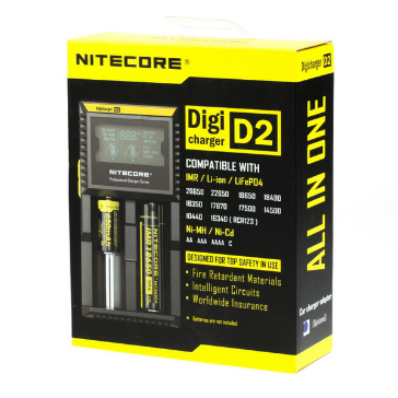 ΦΟΡΤΙΣΤΗΣ - Nitecore D2 External Battery Charger
