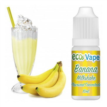 D.I.Y. - 10ml BANANA MILKSHAKE eLiquid Flavor by Eco Vape