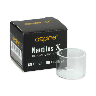 ΑΤΜΟΠΟΙΗΤΉΣ - ASPIRE Nautilus X Replacement Glass Tank ( Clear )