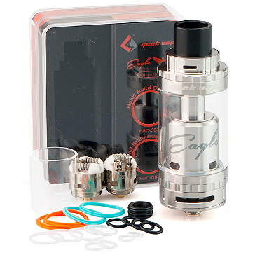 ΑΤΜΟΠΟΙΗΤΉΣ - GEEK VAPE Eagle 25 RTA with Hand-Built Coils ( Stainless )