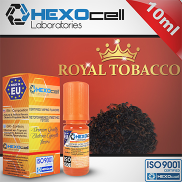 D.I.Y. - 10ml ROYAL TOBACCO eLiquid Flavor by HEXOcell