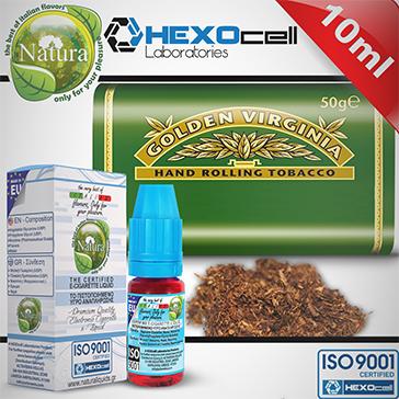 10ml VIRGINIA 12mg eLiquid (With Nicotine, Medium) - Natura eLiquid by HEXOcell