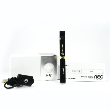 Electronic Cigarette - Janty Neo Classic Auto Airflow (Single Kit - Black)