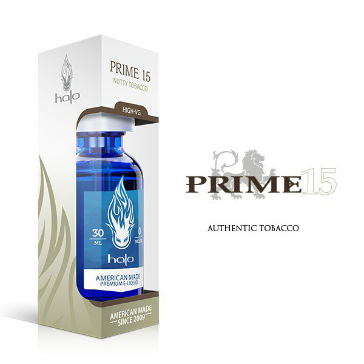 30ml PRIME15 6mg 70% VG eLiquid (With Nicotine, Low) - eLiquid by Halo