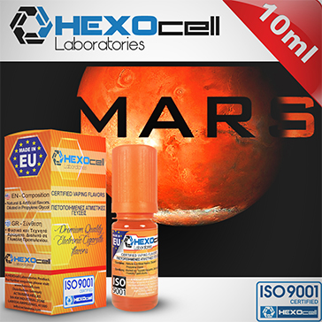 D.I.Y. - 10ml RED AS MARS eLiquid Flavor by HEXOcell