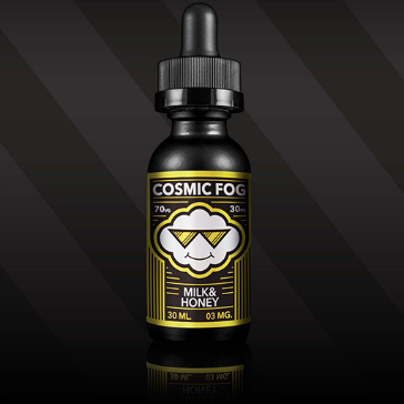 30ml MILK & HONEY 6mg High VG eLiquid (With Nicotine, Low) - eLiquid by Cosmic Fog