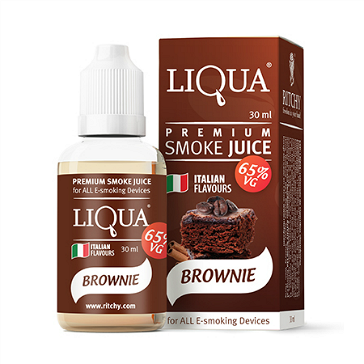30ml LIQUA C BROWNIE 24mg 65% VG eLiquid (With Nicotine, Extra Strong) - eLiquid by Ritchy