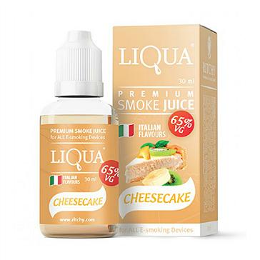 30ml LIQUA C CHEESECAKE 12mg 65% VG eLiquid (With Nicotine, Medium) - eLiquid by Ritchy