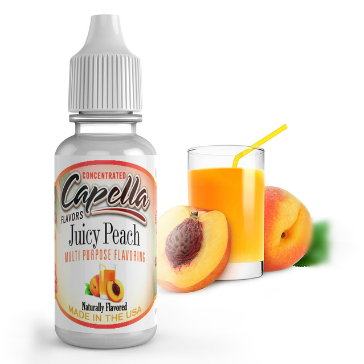 D.I.Y. - 13ml JUICY PEACH eLiquid Flavor by Capella