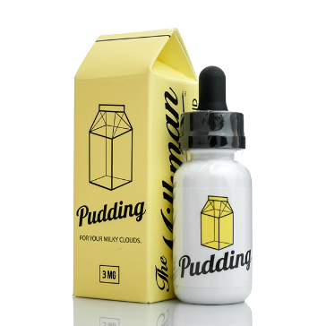 30ml PUDDING 0mg MAX VG eLiquid (Without Nicotine) - eLiquid by The Vaping Rabbit