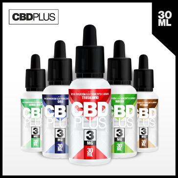 30ml CBD STRAWBERRY 18mg eLiquid (With Nicotine, Strong) - eLiquid by CBDPLUS