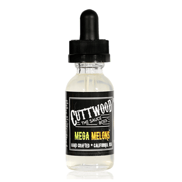 30ml MEGA MELONS 3mg 70% VG eLiquid (With Nicotine, Very Low) - eLiquid by Cuttwood