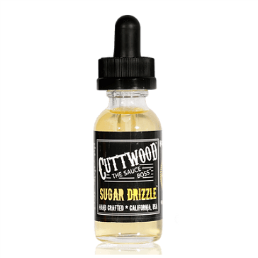 30ml SUGAR DRIZZLE 0mg 70% VG eLiquid (Without Nicotine) - eLiquid by Cuttwood