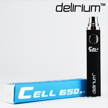 ΜΠΑΤΑΡΙΑ - DELIRIUM CELL 650mA eGo/eVod Υψηλής ποιότητας ( ΜΑΥΡΗ )