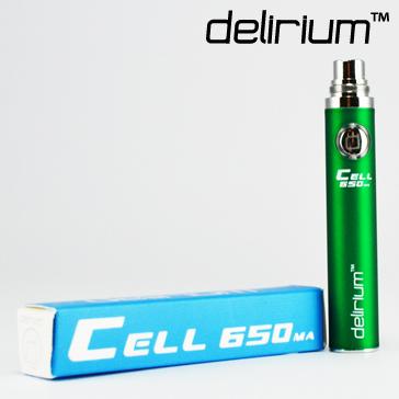 ΜΠΑΤΑΡΙΑ - DELIRIUM CELL 650mA eGo/eVod Υψηλής ποιότητας.  ( ΠΡΑΣΙΝΗ )
