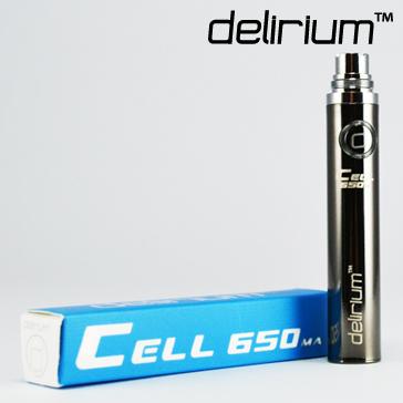 ΜΠΑΤΑΡΙΑ - DELIRIUM CELL 650mA eGo/eVod Υψηλής ποιότητας ( ΜΑΥΡΗ ΜΕΤΑΛΛΙΚΗ )