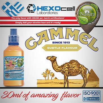 D.I.Y. - 30ml CAMMEL 0mg 65% VG TPD Compliant Shake & Vape eLiquid by Natura