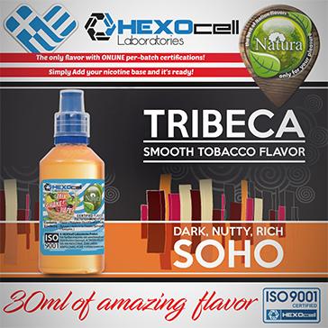 D.I.Y. - 30ml TRIBECA & SOHO 0mg 65% VG TPD Compliant Shake & Vape eLiquid by Natura