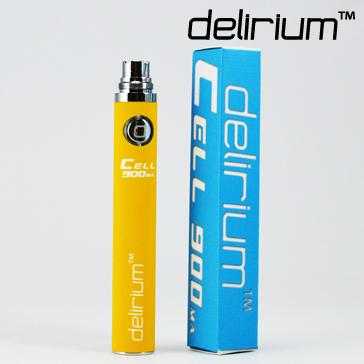 ΜΠΑΤΑΡΙΑ - DELIRIUM CELL 900mA eGo/eVod Υψηλής ποιότητας ( ΚΙΤΡΙΝΗ )