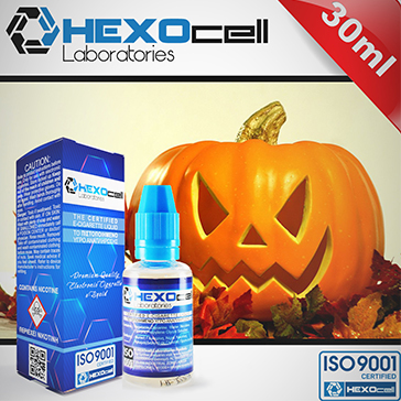 30ml HALLOWEEN FREAK 6mg 80% VG eLiquid (With Nicotine, Low) - eLiquid by HEXOcell