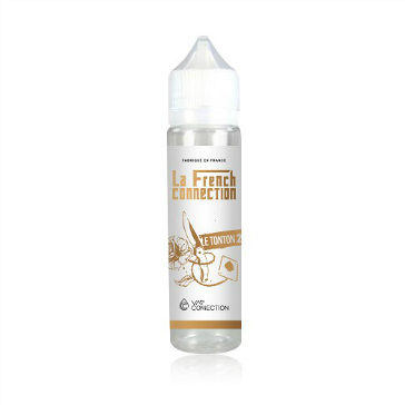 D.I.Y. - 40ml LE TONTON V2 0mg High VG TPD Compliant Shake & Vape eLiquid by La French Connection