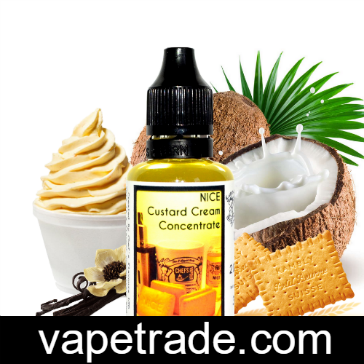 D.I.Y. - 30ml NICE CUSTARD eLiquid Flavor by Chef's Flavours