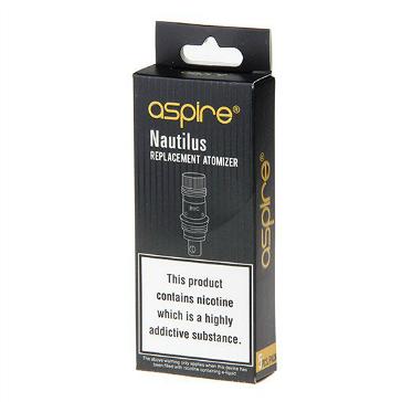 ΑΤΜΟΠΟΙΗΤΉΣ - 5x ASPIRE Nautilus 2 BVC Heads ( 0.7 ohms )